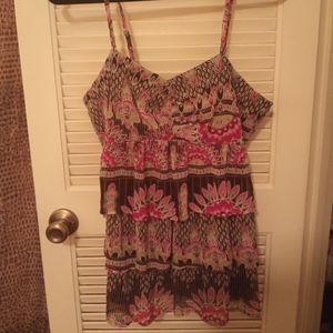 Dressy Tiered Top